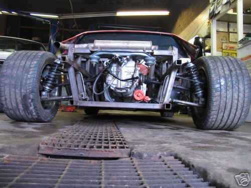 Driveable Tube Chassis Fiero