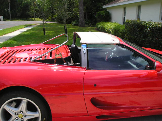 1997 Ferrari F355 Convertible Top And Frame