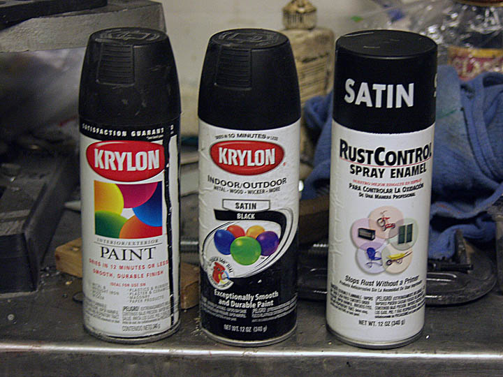 Krylon Semi Flat Black Replacement